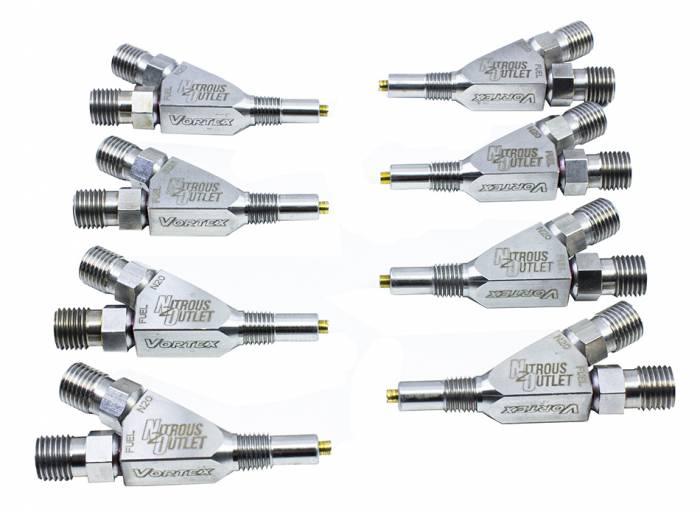 """Titanium Vortex 1/16"""" NPT Wet Nozzle - 8 Pack"""