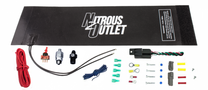 X-Series Nitrous Bottle Heater with Installation Accessories For 10/12/15lb Bottles