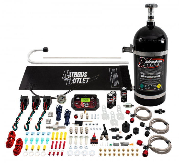 X-Series Universal EFI Single Nozzle System Package