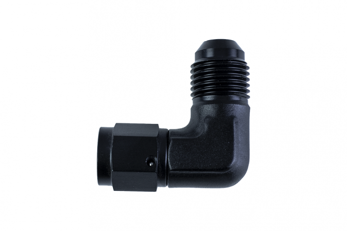 4AN Female x 6AN Male Expander 90 Degree Fitting