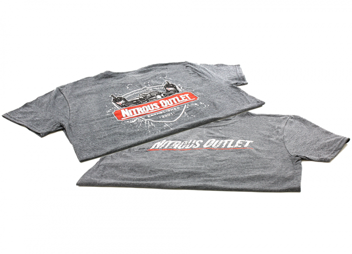 Established In 2001 Grey T-Shirt