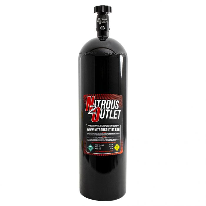 15lb Nitrous Bottle & High Flow Valve