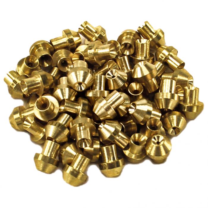 Nitrous Outlet 8 Cylinder Nylon Standard Direct Port Jet Pack - Dry (100-400HP)