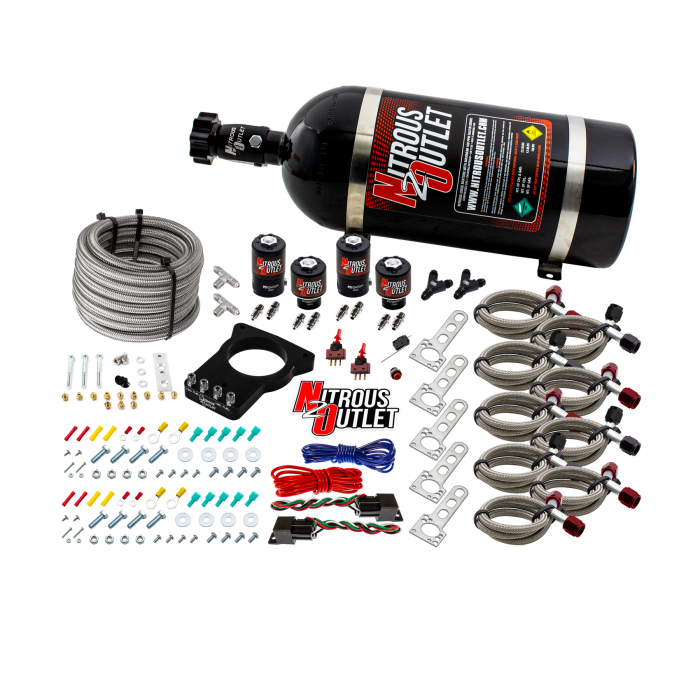 GM 78mm Dual Stage LSX Plate System