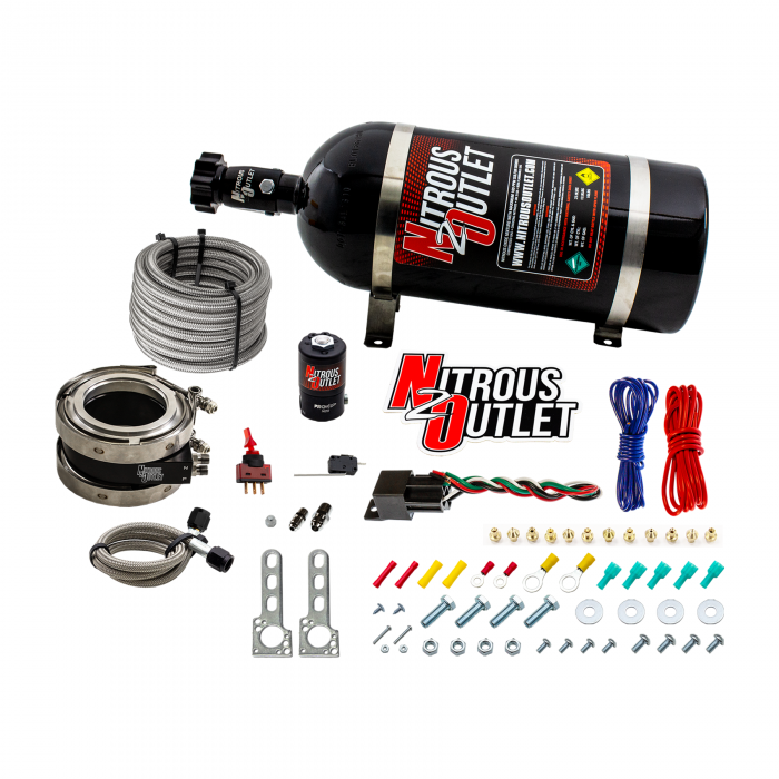 "Nitrous Outlet Interspooler 4"" Dry Nitrous Plate System"