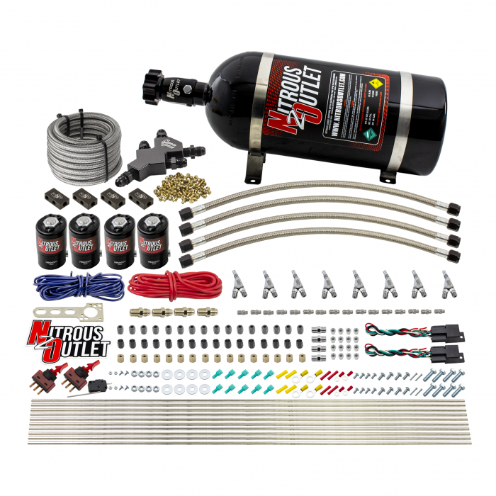 8 Cylinder Dual Stage Dry Direct Port System - .112 Nitrous