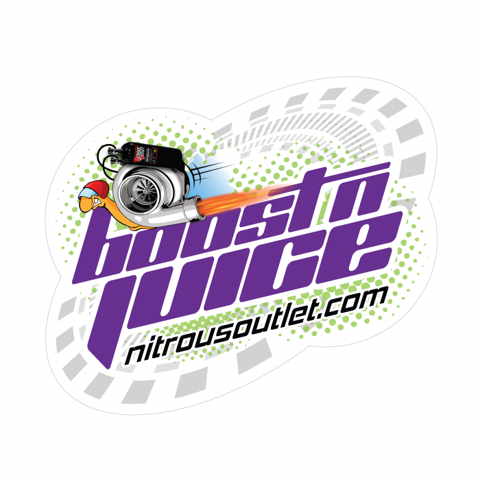 Nitrous Outlet Boost-N-Juice Logo Sticker