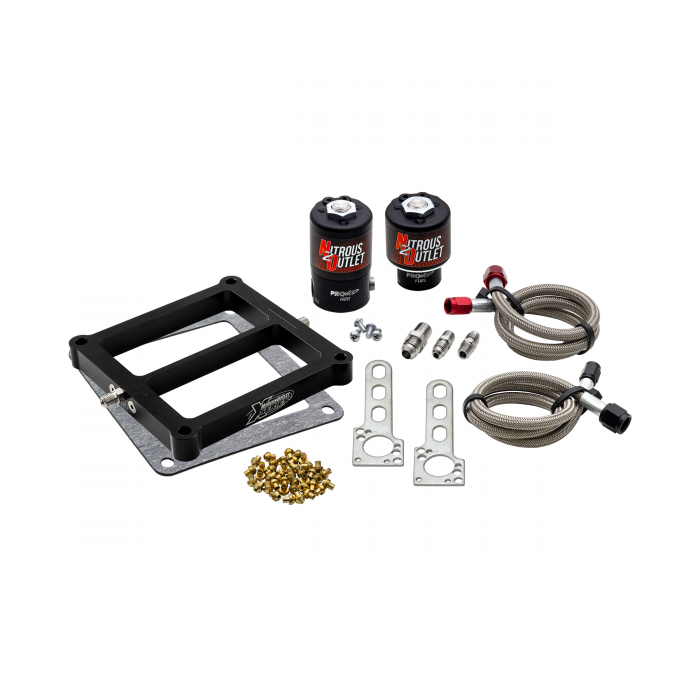 Nitrous Outlet Weekend Warrior X-Series 4500 Plate System Solenoids Forward Conversion