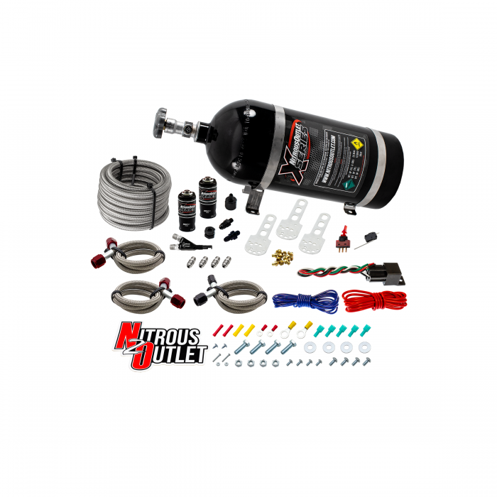 X-Series 99-04 Ford Lightning Single Nozzle System