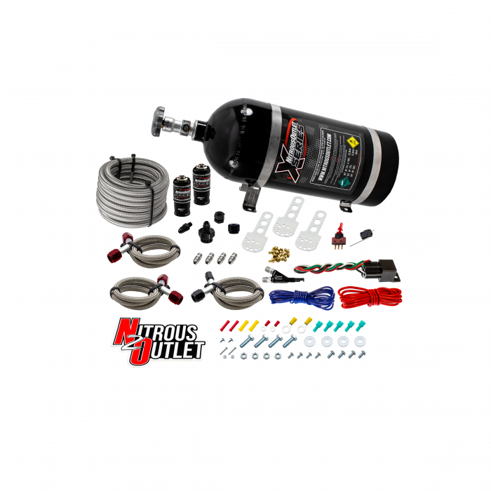 X-Series 87-98 Mustang GT/Cobra EFI Single Nozzle System