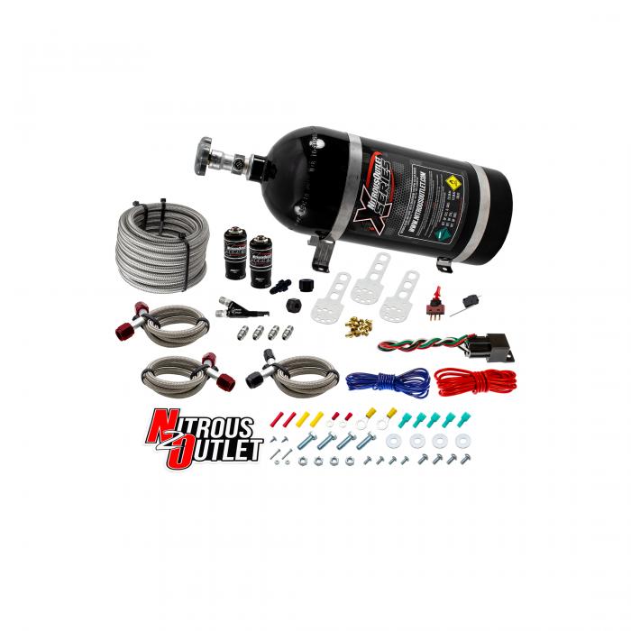 X-Series 2010-2020 5th & 6th Gen V6 Camaro Single Nozzle System
