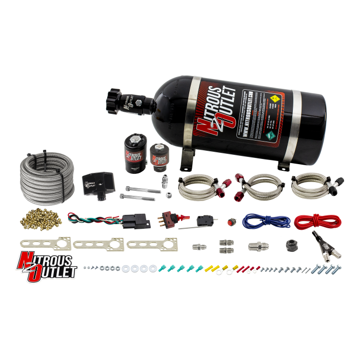 Ford 2005-2010 Mustang GT EFI Single Nozzle System