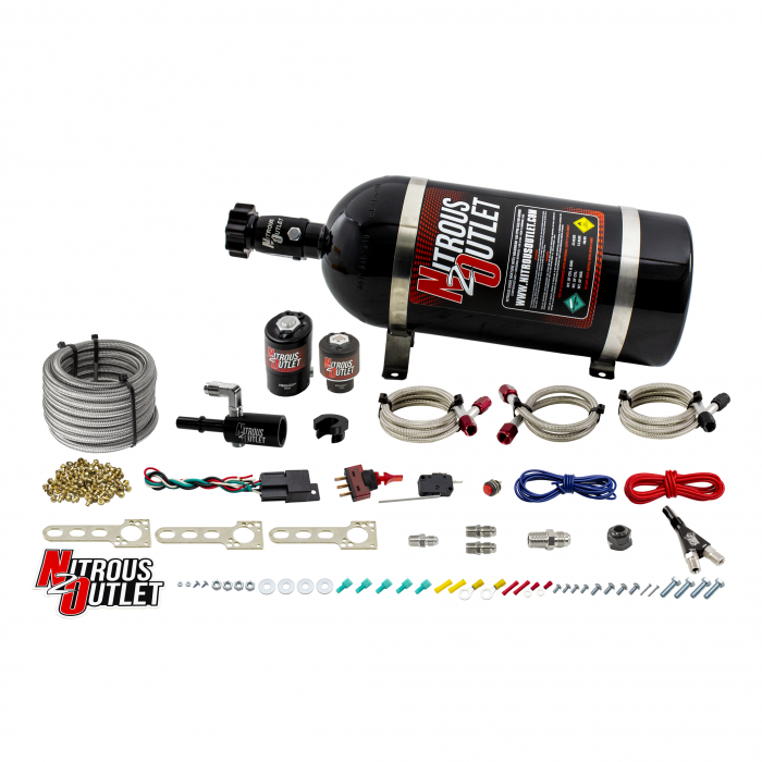 Ford 2011-2018 Mustang/F-150 5.0L Single Nozzle Nitrous System