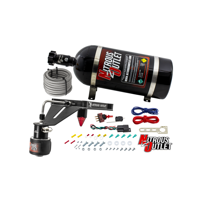4150 GENIII RACE DRY Stinger Plate System with Deep EFI Center Solenoid Bracket(50-600HP)