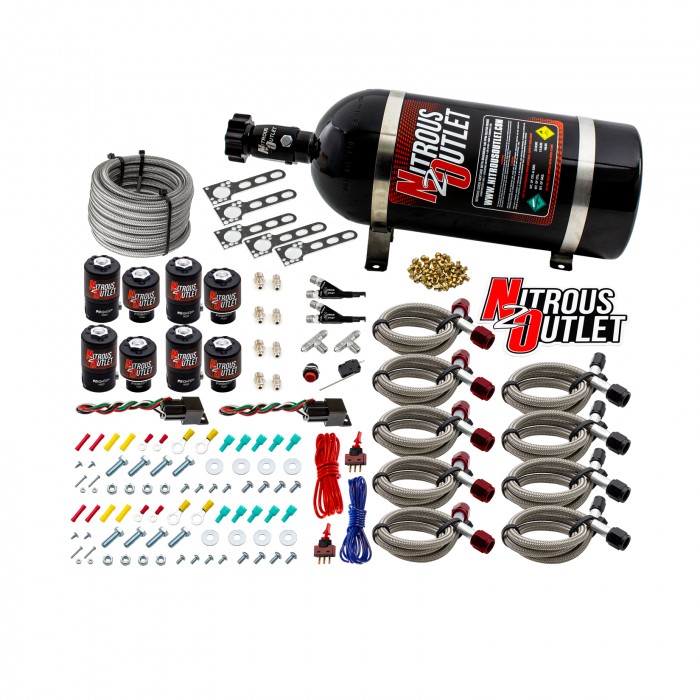 Import EFI Dual Stage Single Nozzle System