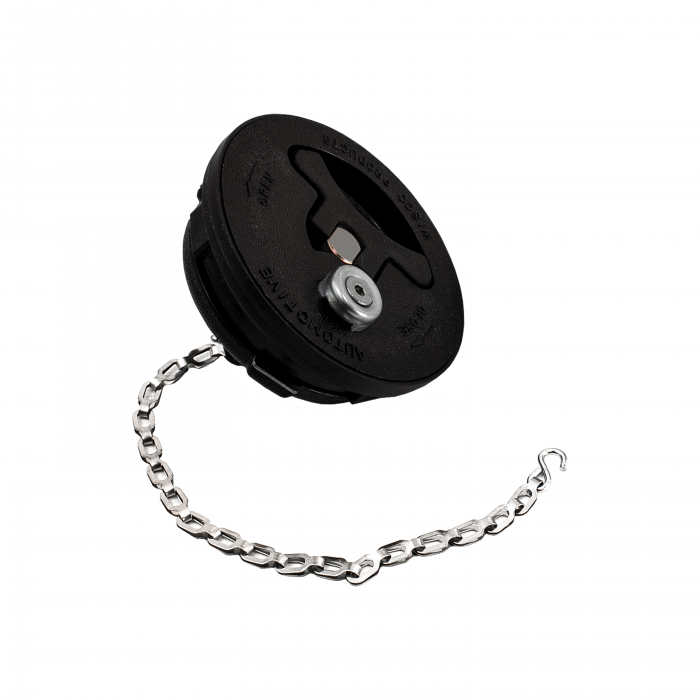 Nitrous Outlet Twist Lock Fuel Cell Cap - Black/Vented