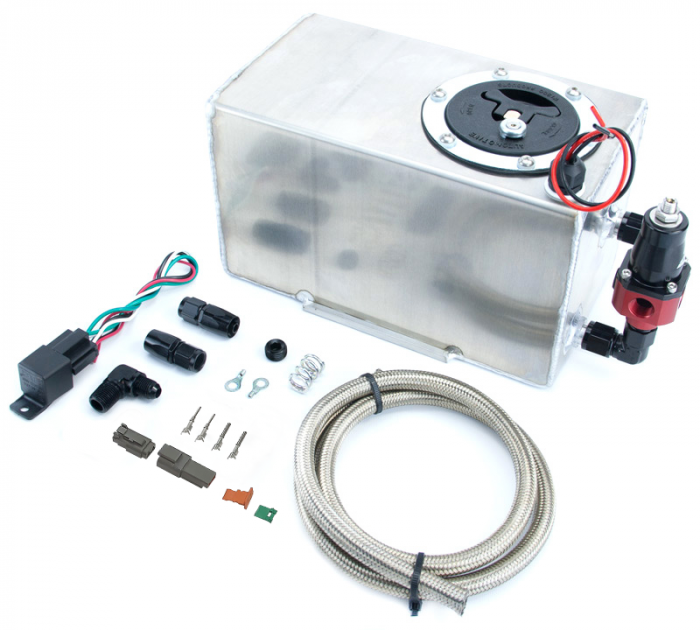 GM 05-09 Trailblazer SS Battery Tray Dedicated Fuel System