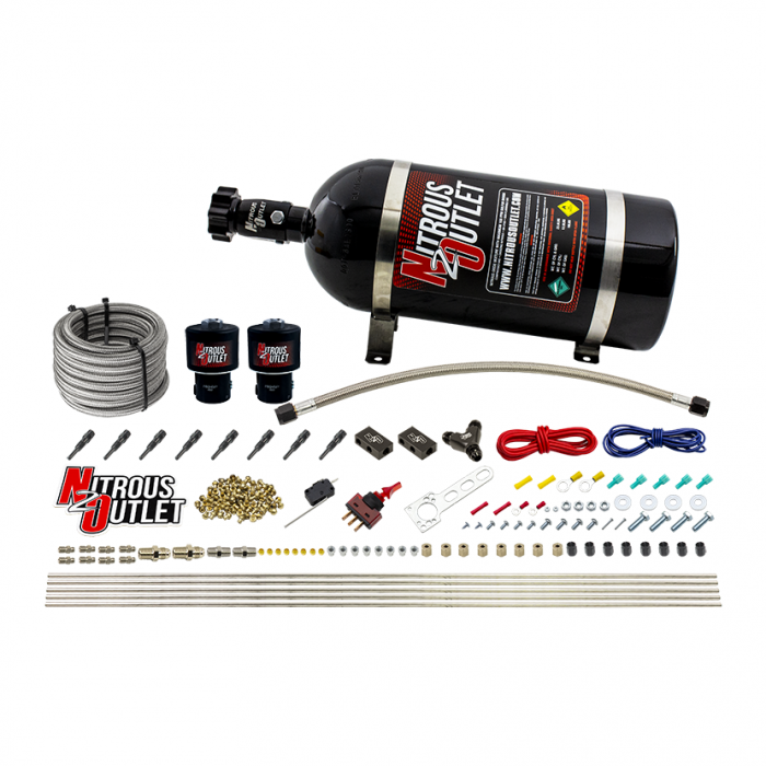 8 Cylinder Dry Direct Port System - .178 Nitrous