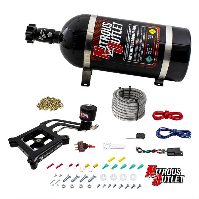 Stinger 2 Race Dry 4150 BoomerangNitrousPlate System