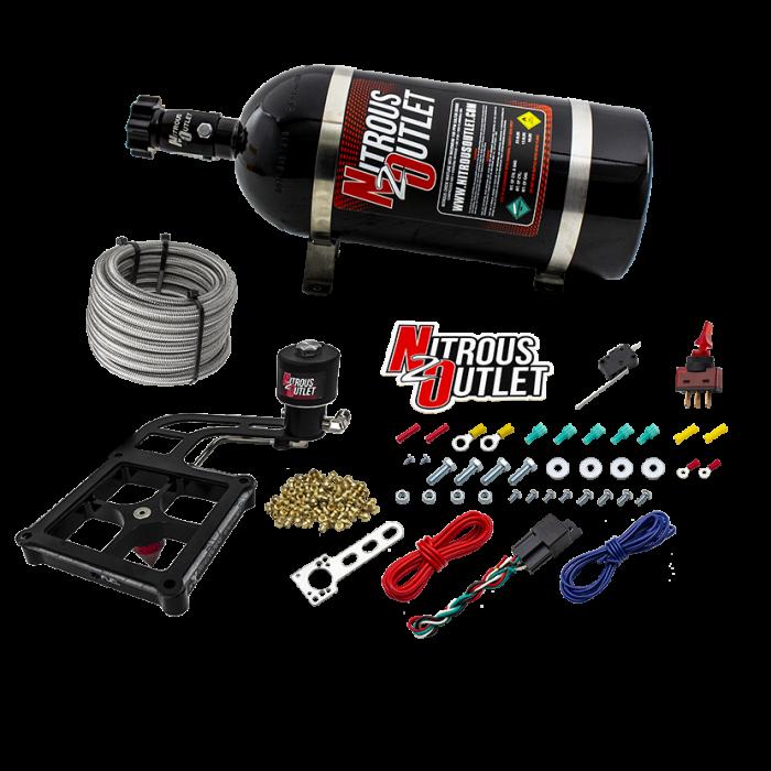Stinger 4 Race Dry 4500 BoomerangNitrousPlate System
