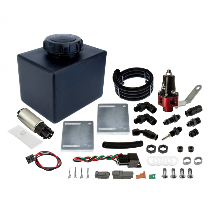 Do It Yourself Universal Plastic Dedicated Fuel System