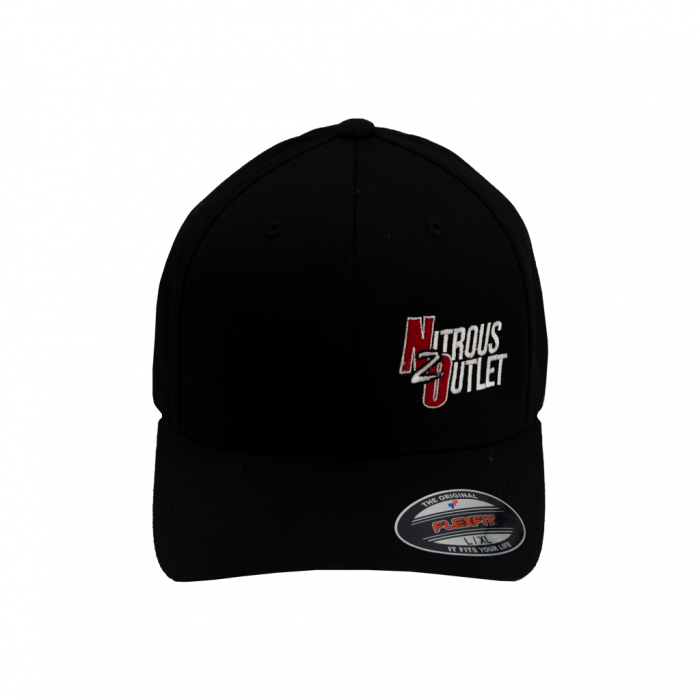 Black Nitrous Outlet Hat with Small Logo