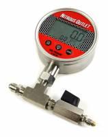Digital Flowing Fuel Pressure Test Gauge (0-100 PSI Gauge) - Image 1