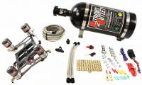 4500 GENIII Race Dual Stage Hornet Plate System With Boomerang Offset 4 Solenoid Bracket(100-800HP) - Image 1