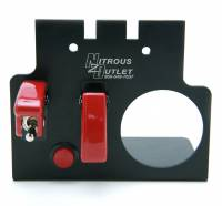 """GM 98-02 F-Body Console Switch Panel With 2 1/16"""" Gauge Hole - Image 3"""