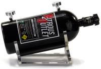 Billet Heated Nitrous Bottle Bracket With Rubber Bottle Isolators - Image 3