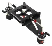 Race 4150 Stinger Plate Conversion With Deep Center Solenoid Bracket (50-600hp) - Image 1