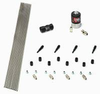 Dry 4 Cylinder 1 Solenoid Forward Plumbers Kit With Distribution Block and 90 Degree Nozzles - Image 2