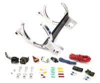 Roll Bar Mounted Heated Billet Aluminum Bottle Bracket with 6AN Install Accessories - Image 1