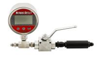 Digital Inline Nitrous Pressure Gauge & Shutoff Valve with Filter - Image 2
