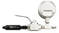 Digital Inline Nitrous Pressure Gauge & Shutoff Valve with Filter - Image 3