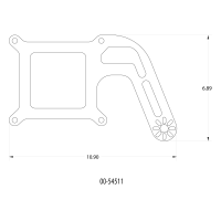 4150 Flange Boomerang 1 Solenoid Bracket - Image 2