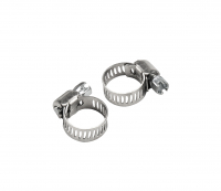 00-01802 Import Fuel Tee with 2 Hose Clamps