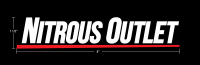 Nitrous Outlet Small Underline Logo Sticker