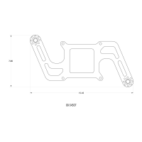 Stinger 3 Standard Wet 4150 Boomerang Solenoids ForwardNitrousPlate Conversion