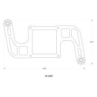 Stinger 3 Race Wet 4500 BoomerangNitrousPlate System