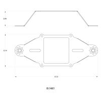 Stinger 4 Standard Wet 4500 Deep Break NitrousPlate System