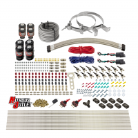 8 Cylinder Dual Stage Direct Port Nitrous System - .122 Nitrous/.177 Fuel Solenoids
