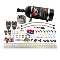 8 Cylinder Single Stage Direct Port Nitrous System - .178 Nitrous/.177 Fuel Solenoids