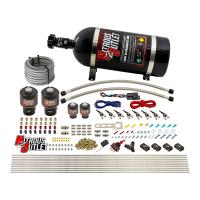 8 Cylinder Single Stage Direct Port Nitrous System - .178 Nitrous/.177 Fuel Solenoids - Alcohol
