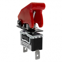 Aircraft Style On-Off Toggle Switch With Cover