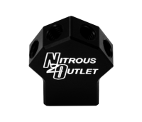 "Powersports 1 In 4 Out Distribution Block (1/8"" NPT Inlet,5-16/24"" Outlets)"
