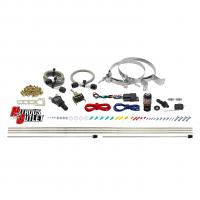 Powersports Twin Discharge Hardline Dry Nitrous System