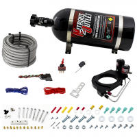 Holley Hi-Ram 102mm Throttle Body Hard-line Plate Plate System - Drivers Side/Excludes Fuel Supply