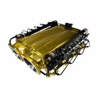 LME Intake equipped with Single Stage Direct Port Nitrous System with Injection Rails Cover
