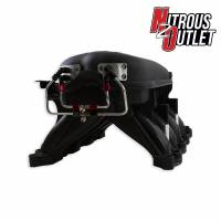 Ford Racing Cobra Jet Intake Manifold equipped with Nitrous Outlet Money Maker System Cover